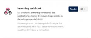 webhooks - talkspirit 2