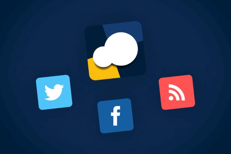 integrating facebook twitter and social media