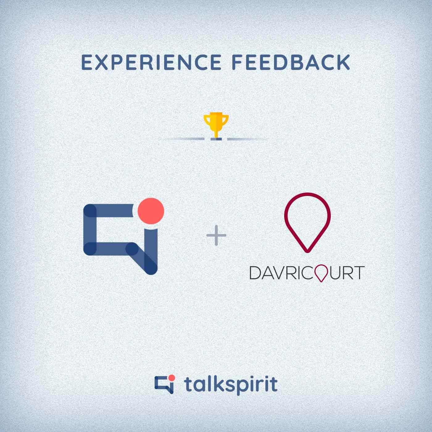 experience feedback talkspirit davricourt