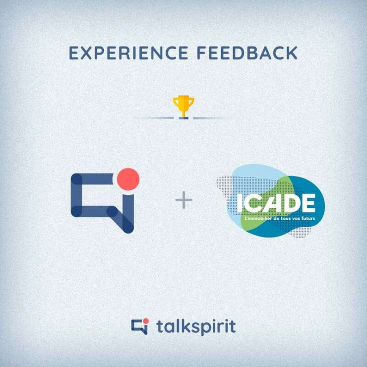 """talkspirit for """"performance and ease of use"""" by Icade"""