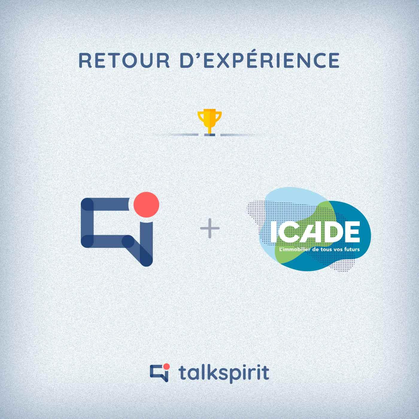 retour experience talkspirit icade