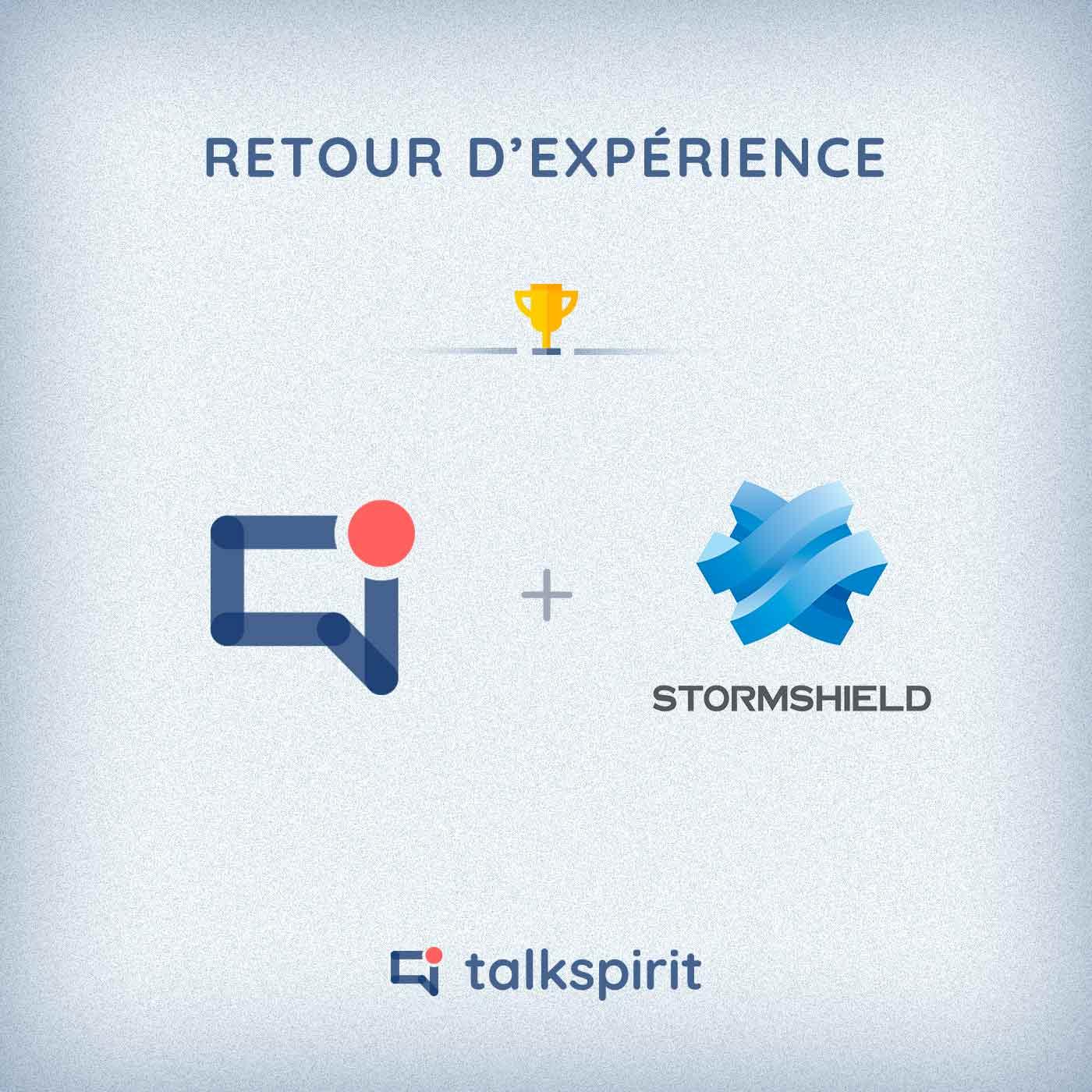 retour experience talkspirit stormshield