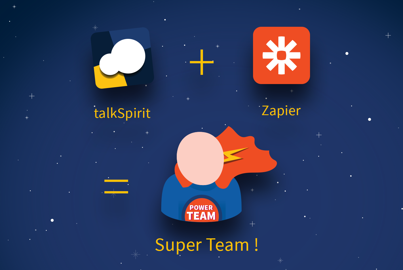 talkspirit zapier