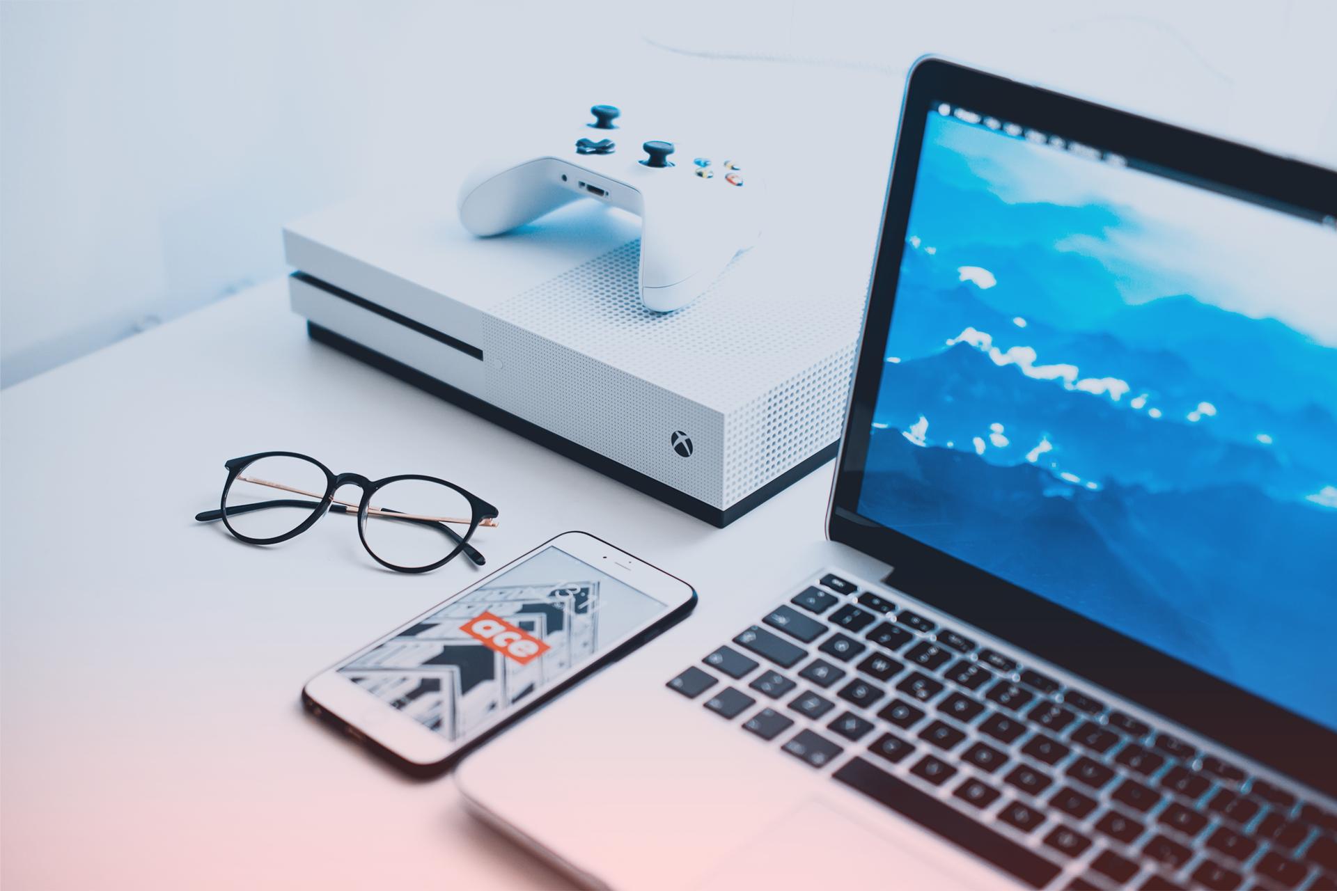 gamificatino console ordinateur portable