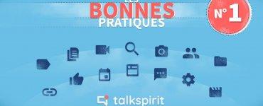 bonnes pratiques 1 Talkspirit