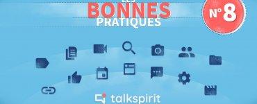 cas d'usage plateforme collaborative - Talkspirit