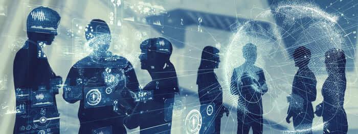 Collaboration et transformation digitale réseau social d'entreprise
