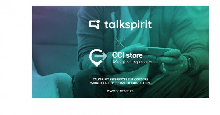 CCI Store recommande Talkspirit