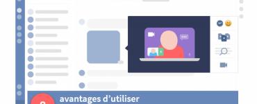 Interface de talkspirit pour blog