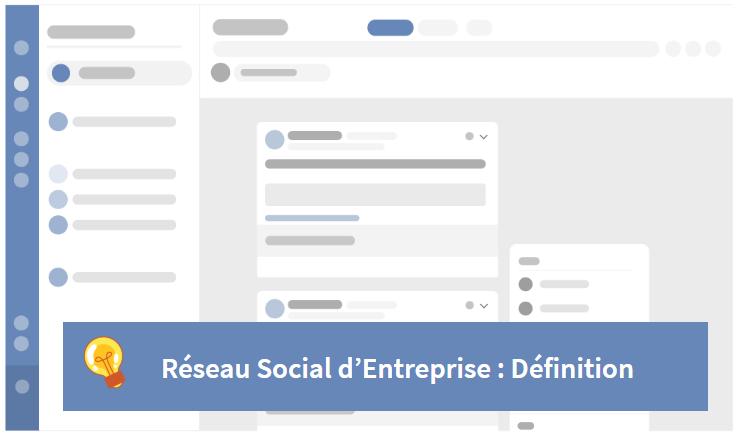 définition réseau social d'entreprise