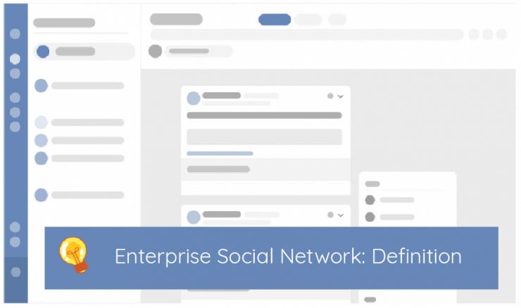 Enterprise social network definition
