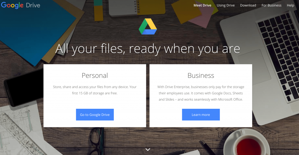 Google drive remote working