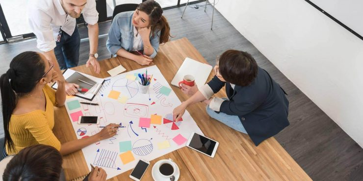Develop collaborative work in companies