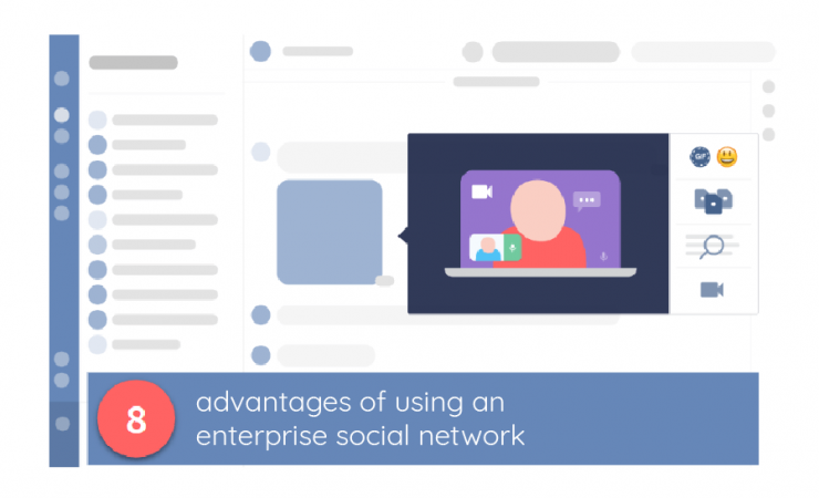advantages of using an enterprise social network