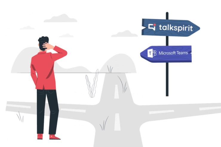Talkspirit Alternative to Microsoft Teams