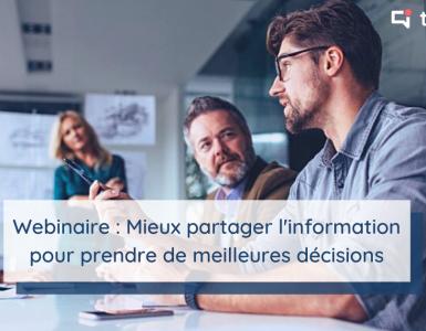 Webinaire Talkspirit et Flexjob du 9 juillet 2020 : mieux partager l'information pour prendre de meilleures décisions