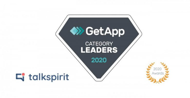 Talkspirit is named Category Leader by GetApp in Instant Messaging & Chat