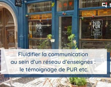 L'enseigne de restauration rapide PUR etc. adopte Talkspirit pour fluidifier la communication interne au sein de son réseau de points de vente