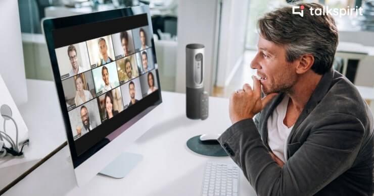 Webinaire Talkspirit et Greenworking sur le management d'équipes hybrides et en télétravail