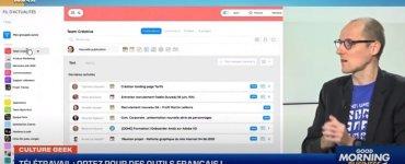 Télétravail : optez pour des outils français, par Anthony Morel sur Culture Geek