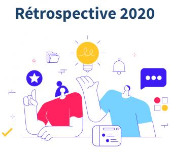 infographie rétrospective 2020 Talkspirit