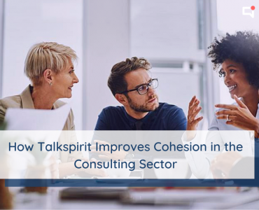 Consulting sector : how the collaborative platform Talkspirit improves cohesion among consultants