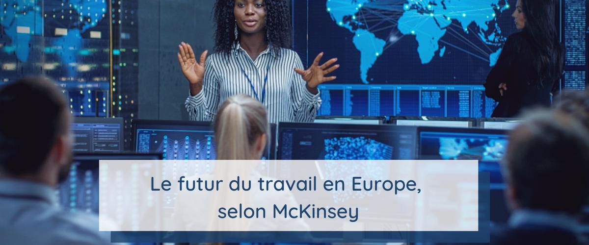 Image illustrant le futur du travail en Europe