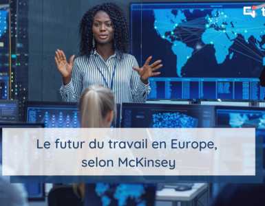 Image illustrant le futur du travail en Europe