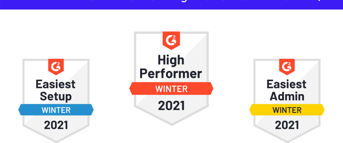 Talkspirit désigné High performer dans 2 catégorie du rapport G2 Winter 2021 : Internal Communication et Business Instant Messaging