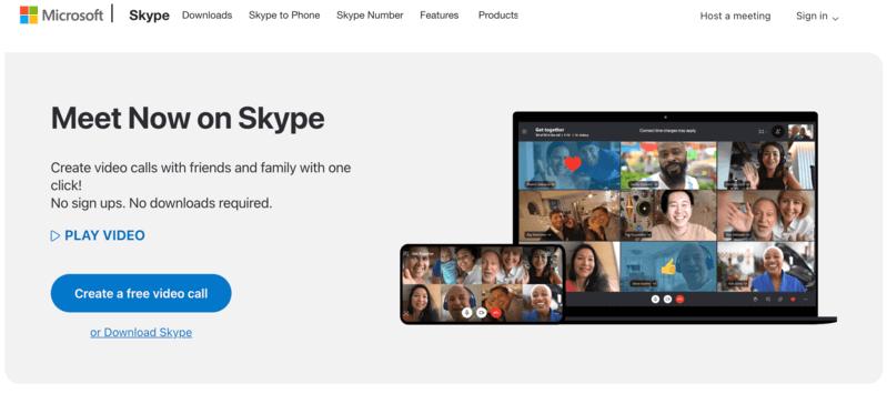 Skype remote working
