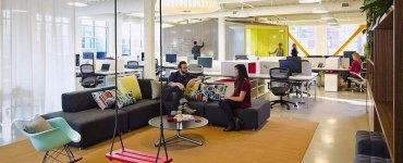 How to use workplace design to improve employee engagement and productivity